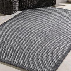 Sarang Gray Indoor/Outdoor Area Rug Rug Size: Rectangle 7'10