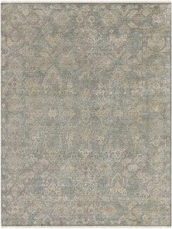 Gerhardine Hand Knotted Sage/Light Gray Area Rug Rug Size: 10' x 14'