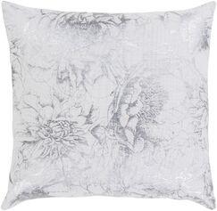 Crescent Modern Floral Cotton Throw Pillow Size: 20