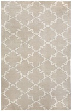 Cococozy Champagne / Ivory Yale Area Rug Rug Size: 8' x 11'