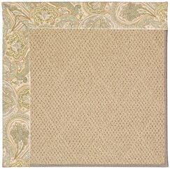 Lisle Machine Tufted Quarry/Brown Indoor/Outdoor Area Rug Rug Size: Rectangle 10' x 14'