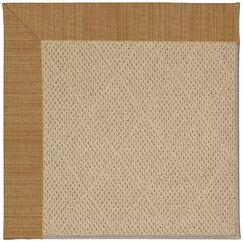 Lisle Machine Tufted Golden Indoor/Outdoor Area Rug Rug Size: Rectangle 12' x 15'