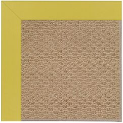 Lisle Machine Tufted Yellow/Brown Indoor/Outdoor Area Rug Rug Size: Square 8'