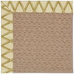 Lisle Machine Tufted Bamboo and Beige Indoor/Outdoor Area Rug Rug Size: Rectangle 2' x 3'