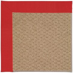 Lisle Machine Tufted Red/Brown Indoor/Outdoor Area Rug Rug Size: Rectangle 10' x 14'