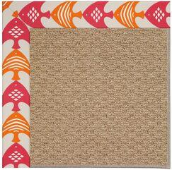 Lisle Machine Tufted Autumn Indoor/Outdoor Area Rug Rug Size: Square 8'