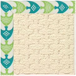 Lisle Off White Indoor/Outdoor Area Rug Rug Size: Rectangle 3' x 5'