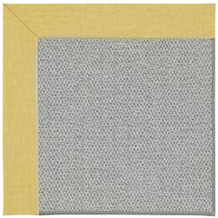 Barrett Silver Machine Tufted Blond/Gray Area Rug Rug Size: Square 6'