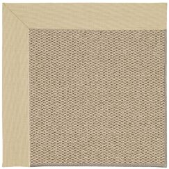 Barrett Champagne Machine Woven Ivory/Beige Area Rug Rug Size: Rectangle 10' x 14'
