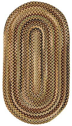 Fort Lupton Amber Area Rug Rug Size: Concentric Runner 2' x 8'