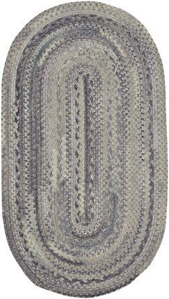 Lyam Cinder Area Rug Rug Size: Oval 1'8