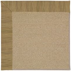 Lisle Brown Indoor/Outdoor Area Rug Rug Size: Rectangle 4' x 6'