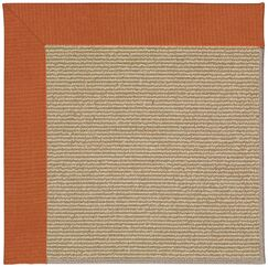 Lisle Machine Tufted Russet/Brown Indoor/Outdoor Area Rug Rug Size: Square 10'