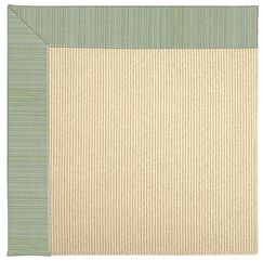 Lisle Machine Tufted Green Spa Indoor/Outdoor Area Rug Rug Size: Rectangle 10' x 14'