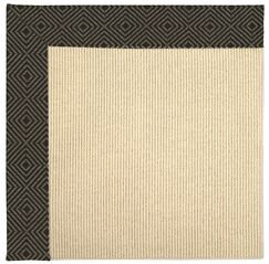 Lisle Machine Tufted Magma/Brown Indoor/Outdoor Area Rug Rug Size: Rectangle 3' x 5'