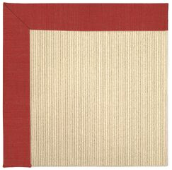 Lisle Machine Tufted Red Crimson/Beige Indoor/Outdoor Area Rug Rug Size: Rectangle 4' x 6'