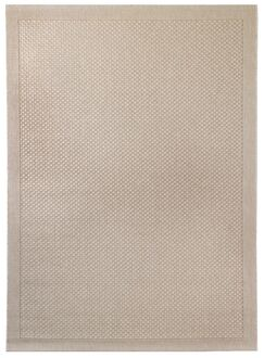 Hoffer Light Brown Indoor/Outdoor Area Rug Rug Size: 5'3
