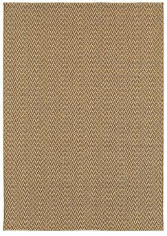 Verbena Golden Wheat Indoor/Outdoor Area Rug Rug Size: 7'10