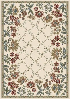 Angie Persian Ivory Area Rug Rug Size: Rectangle 9'2