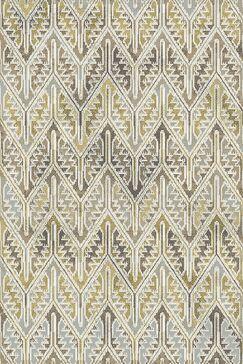 Edgao Gray/Yellow Area Rug Rug Size: Rectangle 3'6