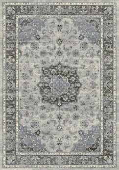 Attell Silver/Gray Area Rug Rug Size: Rectangle 7'10