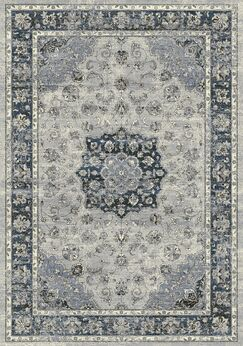 Attell Oriental Gray Area Rug Rug Size: Rectangle 2' x 3'11