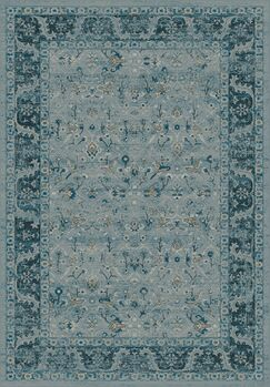 Deadra Blue Area Rug Rug Size: Rectangle 5'3