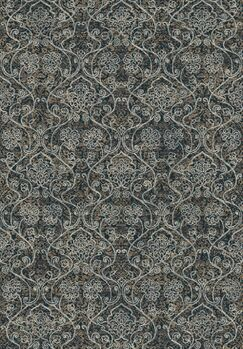 Deadra Gray Area Rug Rug Size: Rectangle 7'10