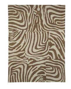 Nolita Beige / Natural Contemporary Rug Rug Size: Rectangle 6'7
