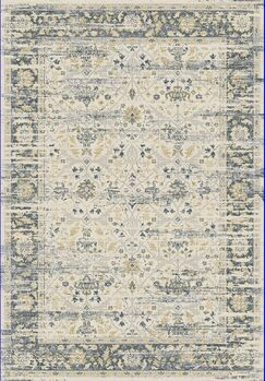 Essence Ivory/Gray Area Rug Rug Size: Rectangle 2' x 3'11