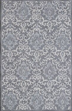 Galen Handmade Gray Area Rug Rug Size: Rectangle 2' x 4'