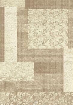 Stringer Beige Block Area Rug Rug Size: Rectangle 6'7