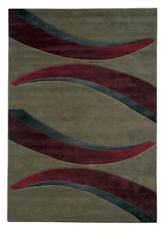 Mystique Arches Area Rug Rug Size: Rectangle 7'10