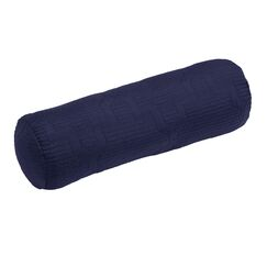 Casablanca Bolster Color: Navy/Dark Grey