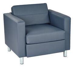 Desma Club Chair Upholstery: Blue