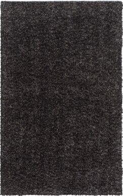 Gaius Gray Area Rug Rug Size: Rectangle 4' x 6'