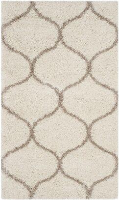 Tate Ivory/Beige Area Rug Rug Size: Rectangle 3' x 5'