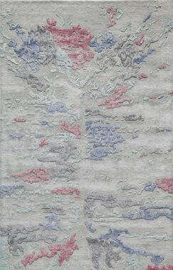 Vallone Hand-Tufted Gray Area Rug Rug Size: Rectangle 8'6