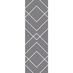 Smyth Gray/Ivory Area Rug Rug Size: Rectangle 6' x 9'