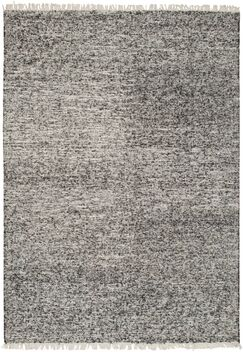 Mcdavid Hand Woven Silk Black Area Rug Rug Size: Rectangle 4' x 6'