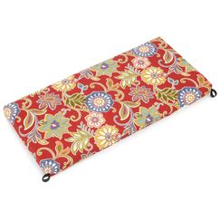 Bench Cushion Color: Alenia Pompeii
