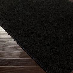 Bennette Black Area Rug Rug Size: Rectangle 8' x 10'