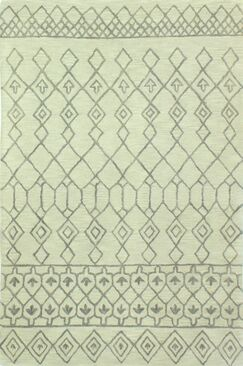 Bielecki Hand-Tufted Area Rug Rug Size: 5' x 7'6