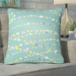 Bishopville Beads Indoor/Outdoor Throw Pillow Size: 20