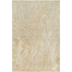 Moira Hand-Tufted Moss/Peach Area Rug Rug Size: Rectangle 2' x 3'
