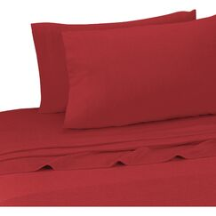 Darrington Extra Soft Jersey Sheet Set Size: Full, Color: Tango Red