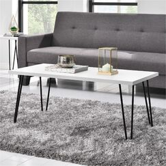 Bronstein Coffee Table Color: White