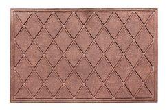 Albertina Diamond Eco-Poly Indoor/Outdoor Doormat Color: Dark Brown