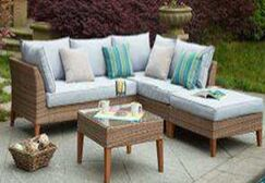Piedmont Garden 5 Piece Sofa Set with Cushions