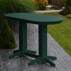 Nettie DiningTable Color: Turf Green, Table Size: 60